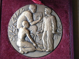 Médaille -COMITE CENTRAL APPRENTISSAGE DU BATIMENT...... - Professionnels / De Société