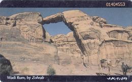 JORDAN - Wadi Rum, Chip:SC7, 02/99, Used - Jordan