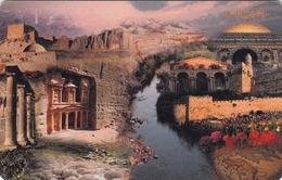 JORDAN - Jordanian Landmarks, Chip:SC7, 01/00, Used - Jordan