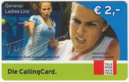 AUSTRIA F-428 Prepaid Telekom - Event, Sport, Tennis - Used - Oesterreich