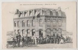 CPA MALO LES BAINS Hôtel De La Plage - Malo Les Bains