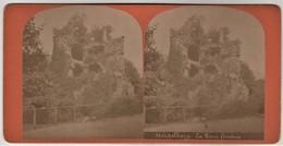 Stereobild Heidelberg - Der Gesprengte Turm - La Tour Fendue - Stereoskope - Stereobetrachter