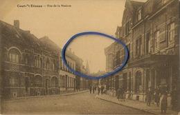 Court-Saint-Etienne :   Rue De La Station - Court-Saint-Etienne