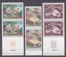 N° 1652 à 1654   Oeuvres D'Art: Série En Paires De 2 Timbres Boucher,Degas,Sculpture Cathédrale Strasbourg - France