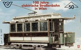 AUSTRIA - Tram, 03/97, Tirage 100.000, Used - Trains