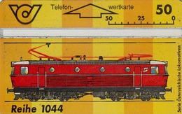 AUSTRIA - Train Reihe 1044, CN:400A, 06/94, Tirage 100.000, Used - Trains