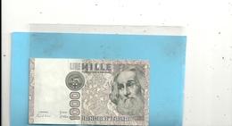 "BANCA D'ITALIA . 1.000 LIRE  TYPE "" MARCO POLO "" N° BB  635577  C - [ 2] 1946-… : Républic"