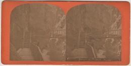 Stereobild Schweiz Kanton Wallis - Gorges Du Trient - Stereoskope - Stereobetrachter