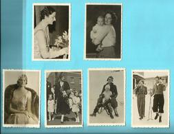 "--  6 X Prent  --Reeks   C En E .* = """"  Le Prince Albert +La Princesse Joséphine-Charlotte - Koninklijke Families"