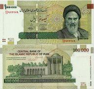 IRAN       100,000 Rials       P-151       ND (2010)      UNC  [ 100000 ] - Iran