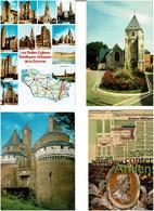 80 / SOMME /  Lot De 90 Cartes Postales Modernes écrites - Cartes Postales