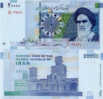 IRAN       20,000 Rials       P-153[b]       ND (2018)      UNC  [ Sign. 38 ] - [ 20000 ] - Iran