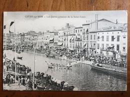 (34, Sport Nautique) SETE: Les Joutes Cettoises De La Saint-Louis, 1918. - Sete (Cette)