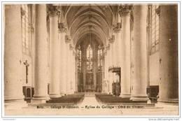 CPA METZ - Collège Saint Clément - Eglise Du Collège - Côté Du Choeur - Metz