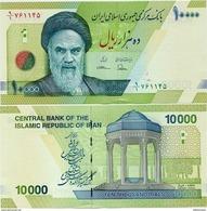IRAN       10,000 Rials       P-159       ND (2017)      UNC  [ Sign. 37 ] - [ 10000 ] - Iran