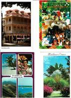 971 / GUADELOUPE /  Lot De 58 Cartes Postales Modernes écrites - Cartes Postales