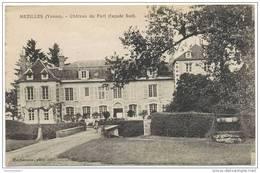 CPA MEZILLES - Château Du Fort ( Façade Sud ) - Ed. Machavoine - France