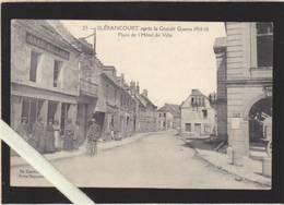 Aisne - Blerancourt - Place De L'hotel De Ville, Le Café Billard - Apres La Grande Guerre 1914/18 - France