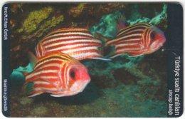 TURKEY B-444 Chip Telekom - Animal, Sea Life, Fish - Used - Türkei