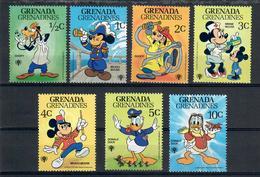 GRENADA GRENADINES 1979 - WALT DISNEY - FUMETTI - ALCUNI VALORI - MNH ** - Grenada (1974-...)