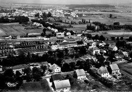CPSM Dentelée - STEINBOURG (67) - Vue Aérienne Du Bourg, Quartier Gare Et Usines Dans Les Années 50 / 60 - France