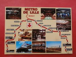 Cpm 59 LILLE  METRO Multivues - Lille