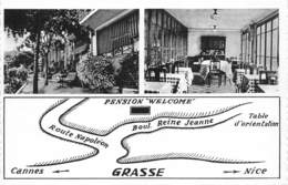 06-GRASSE- PENSION WELCOM, BOULVARD REINE-JEANNE- MULTIVUES - Grasse
