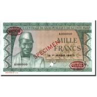 Billet, Guinea, 1000 Francs, 1960, 1960-03-01, Specimen TDLR, KM:15s, NEUF - Guinée