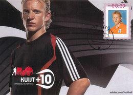 D34162 CARTE MAXIMUM CARD FD 2006 NETHERLANDS - SOCCER DUTCH DIRK KUIJT - NATIONAL TEAM CP ORIGINAL - Famous Clubs