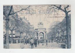 LIEGE / PLACE DU MARCHE (avec BELLE PHILATELIE) - Liège