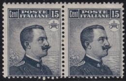 Italy        .   Yvert     .     82  Pair       .       *      .   Ongebruikt    .     /    .     Mint-hinged - 1900-44 Victor Emmanuel III