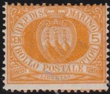 San  Marino       .   Yvert     .    2     .       *      .   Ongebruikt    .     /    .     Mint-hinged - San Marino