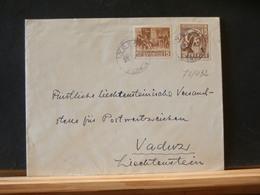 77/432   LETTRE SUEDE 1941   POUR VADUZ  LIECHTENSTEIN - Zweden