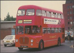Midland Red D9 Fleet No 5399 Bus - After The Battle Postcard - Buses & Coaches