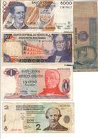 America Lot 5 Banknotes - Banknotes