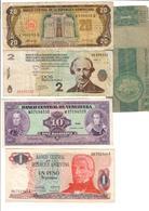 America Lot 5 Banknotes - Banconote