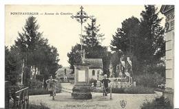 ~ JP  ~ 51   ~  PONTFAVERGER .   Avenue Du Cimetiére . - Other Municipalities