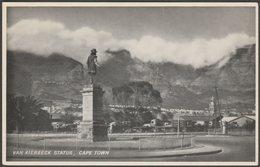 Van Riebeeck Statue, Cape Town, Cape Province, C.1970 - Kimble Postcard - South Africa