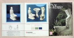 Collezionismo Pubblicità - Brochure Sanitari Venus - 1970 Ca. - Advertising