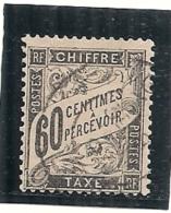 FRANCE Timbre Taxe N° 21 Côte 65€  Oblitéré TTB - Taxes