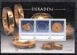 Nederland 2018 Persoonlijke Zegel : Rijksmuseum Van Oudheden: Sieraden, Jewelery, Sheet, Postfris - Periodo 2013-... (Willem-Alexander)