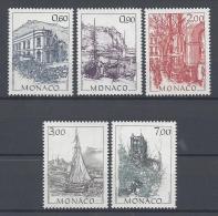 MONACO 1992 Nº 1834/1838 - Monaco