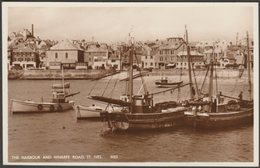 The Harbour And Wharf Road, St Ives, Cornwall, C.1950 - Constance RP Postcard - St.Ives