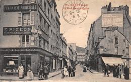 """¤¤  -  GRANVILLE   -  La Rue Paul-Poirier   -  Pharmacie Principale """" E. PIGEON """"   -  ¤¤ - Granville"""