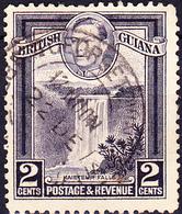 Britisch-Guayana - Kaieteur-Fälle  (MiNr: 177) 1934 - Gest Used Obl - British Guiana (...-1966)