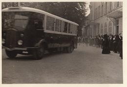 Photo Soeur De NOTRE DAME DES OISEAUX VERNEUIL SUR SEINE Yvelines Seine Et Oise 78 Car Autobus école Etudiant - Lieux
