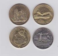 Lot De 4 Médailles 2014 Et 2015 - Monnaie De Paris