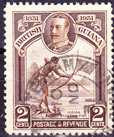 Britisch-Guayana - Zusammenschlusses Der Distrikte Demerara, Berbice Und Essequibo  (MiNr: 152) 1931 - Gest Used Obl - British Guiana (...-1966)