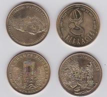 Lot De 4 Médailles  2013 -2014 Et 2015 - Monnaie De Paris