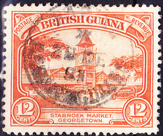 Britisch-Guayana - Georgetown, Stabroek-Markt (MiNr: 161) 1934 - Gest Used Obl - British Guiana (...-1966)